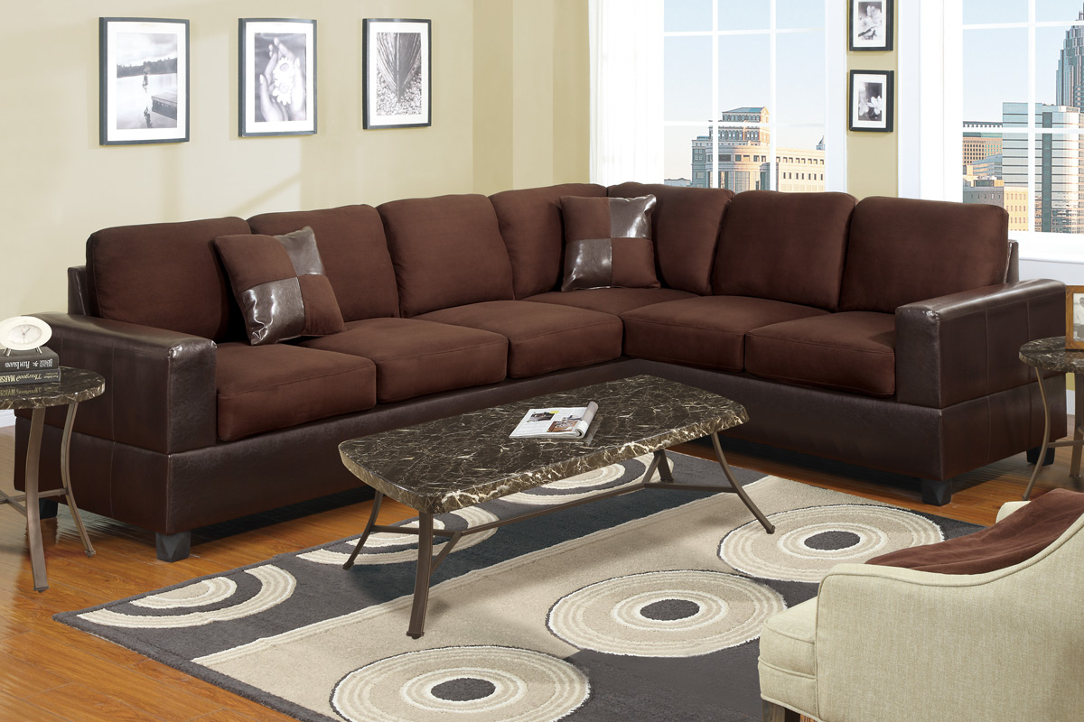 007631 Sectional Chocolate