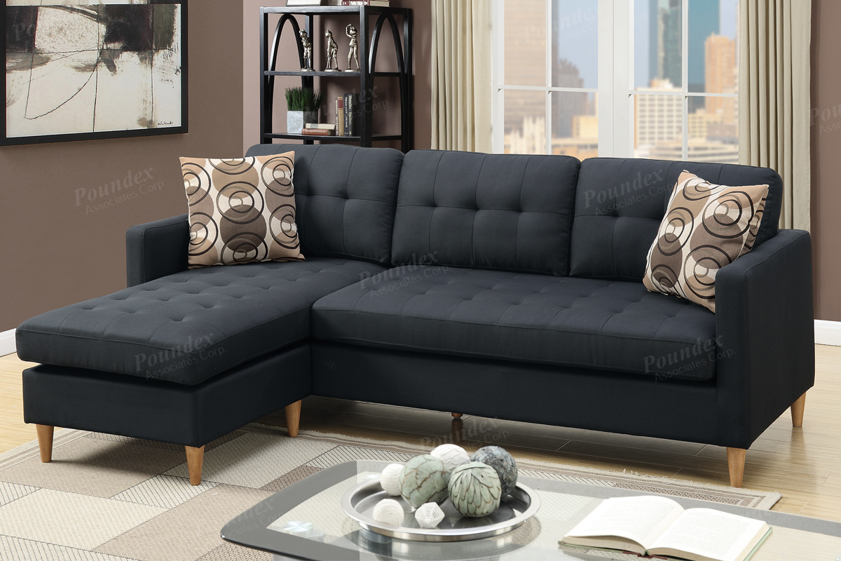 Picture of: Sectional Compact F7084 Black Furniture Mattress Los Angeles And El Monte