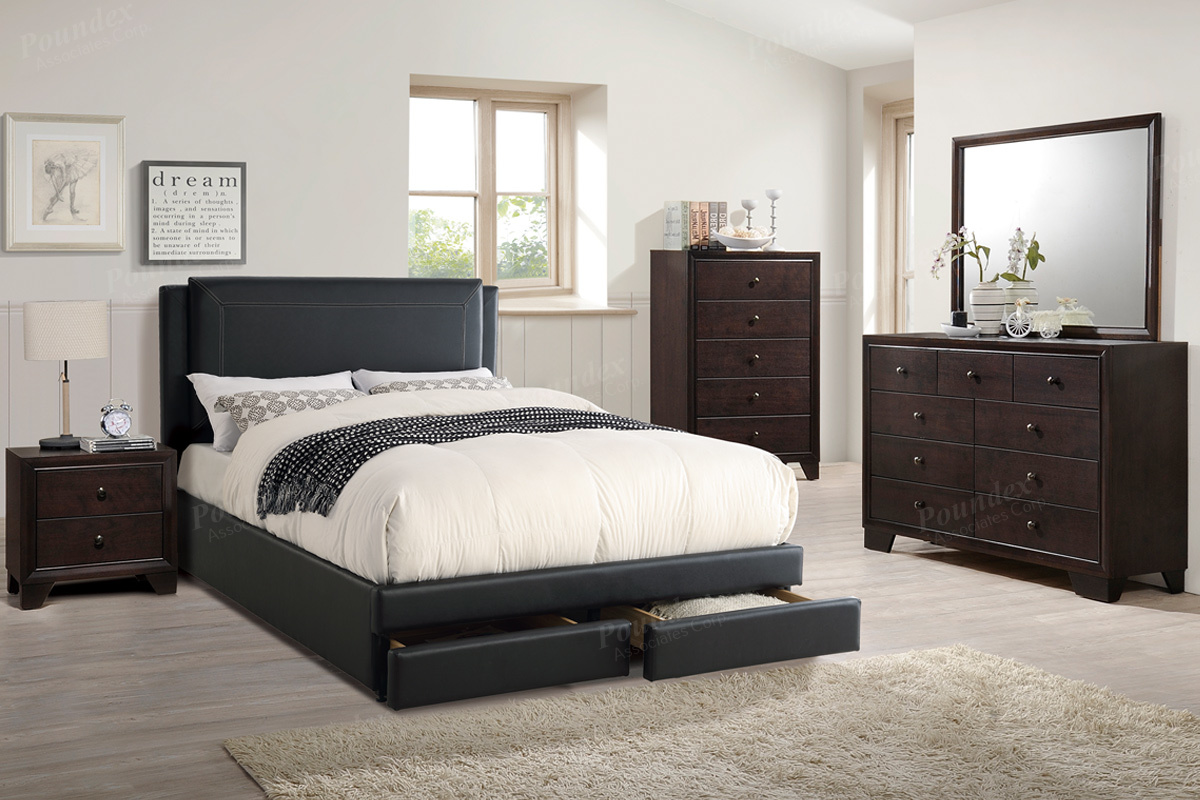 Image of: F9334 Storage Bed Frame Furniture Mattress Los Angeles And El Monte